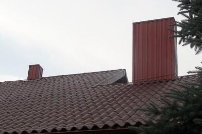 plieninio stogo keitimas